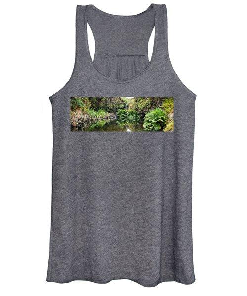Tropical Reflections Women's Tank Top