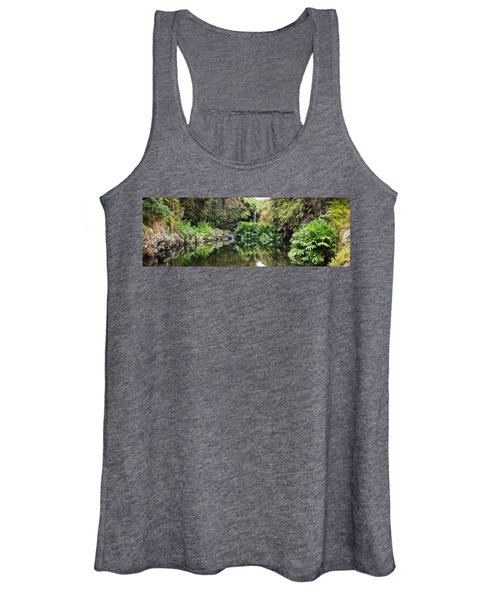 Tropical Reflections Women's Tank Top