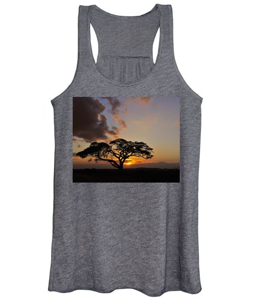 Tsavo Sunset Women's Tank Top
