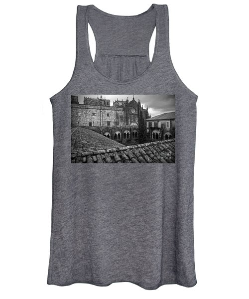 Tui Cathedral Cloister Bw Women's Tank Top