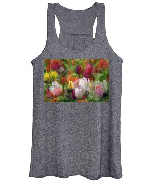 Tulips Women's Tank Top