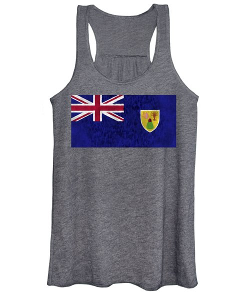 Turks And Caicos Islands Flag Women's Tank Top