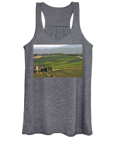 Tuscan Hillside Women's Tank Top