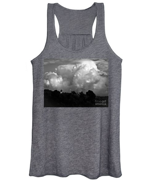 Tuscan Storm Rising From The Valley Women's Tank Top