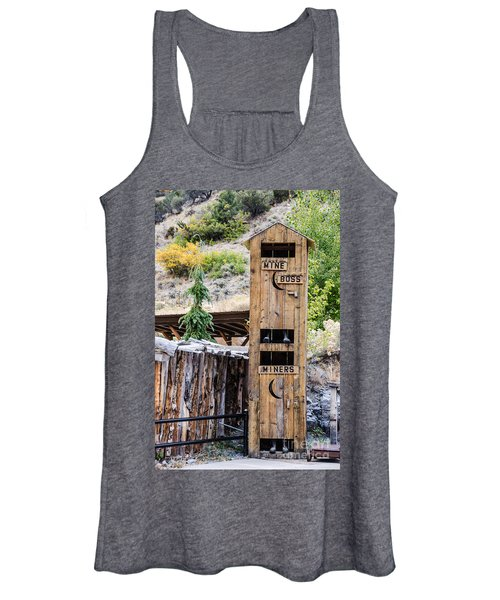 Two-story Outhouse Women's Tank Top