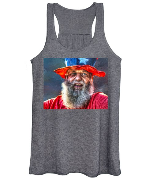 Uncle Sam Women's Tank Top