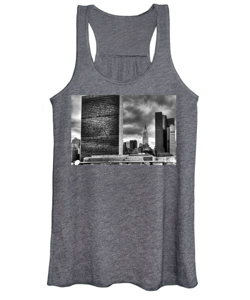 United Nations And Chrysler Building Women's Tank Top