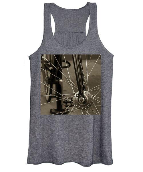 Urban Spokes In Sepia Women's Tank Top