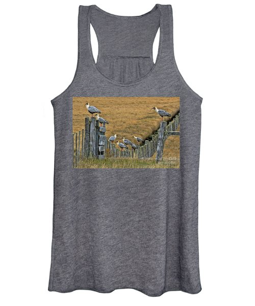 End Of The Road Birds Women's Tank Top