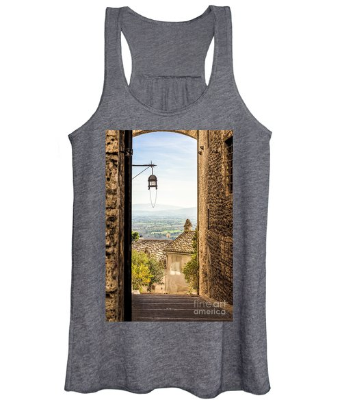 Valley Outside Assisi Women's Tank Top