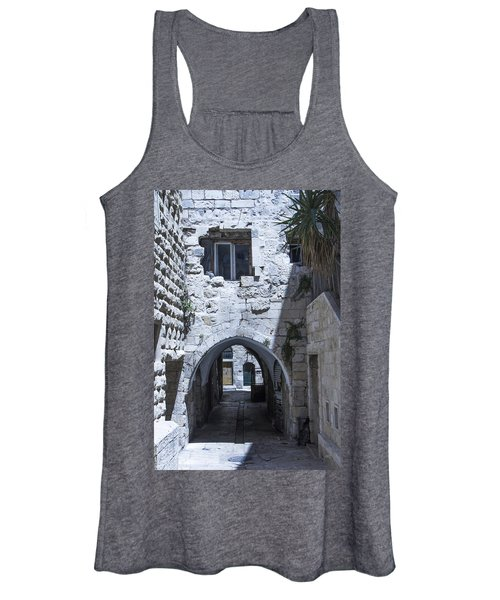 Very Old City Architecture No 1 Women's Tank Top