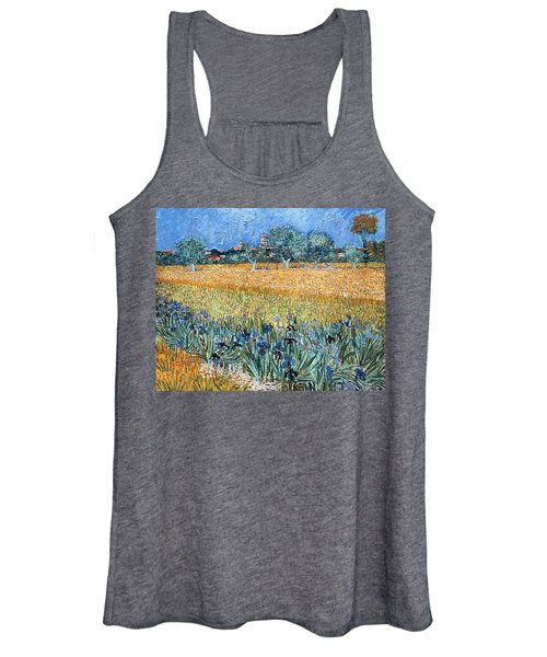 Field With Flowers Near Arles Women's Tank Top