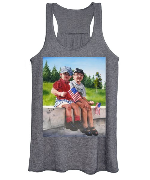 Waiting For The Parade Women's Tank Top