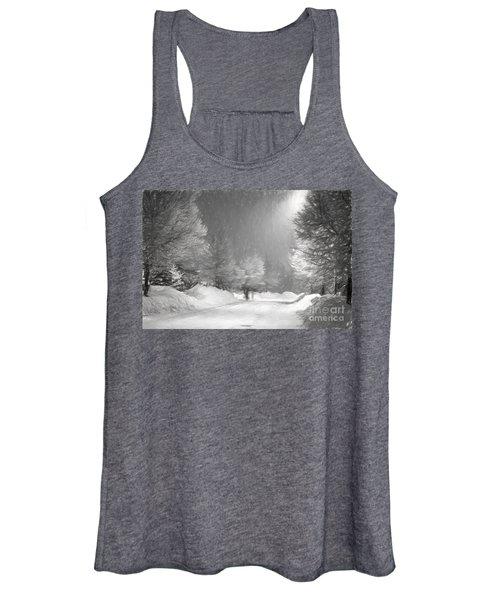 Winter Walk Women's Tank Top