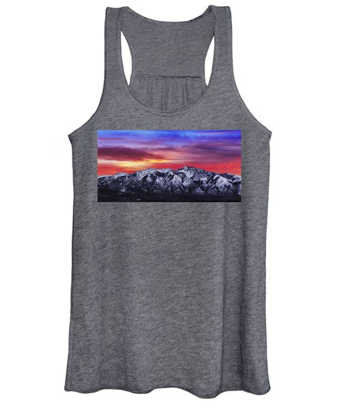 Wasatch Sunrise 2x1 Women's Tank Top