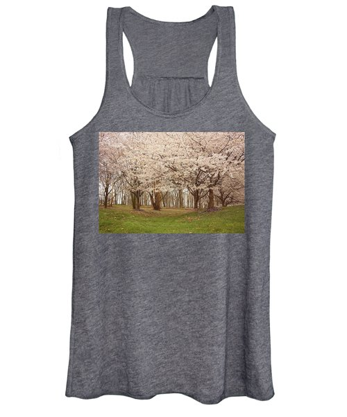 Washington Dc Cherry Blossoms Women's Tank Top