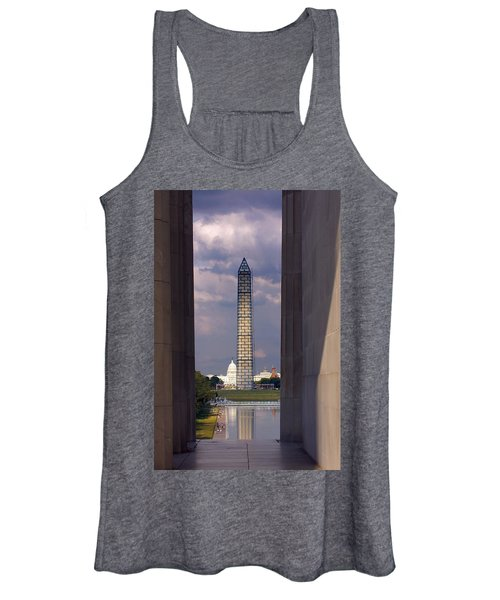 Washington Monument And Capitol 2 Women's Tank Top