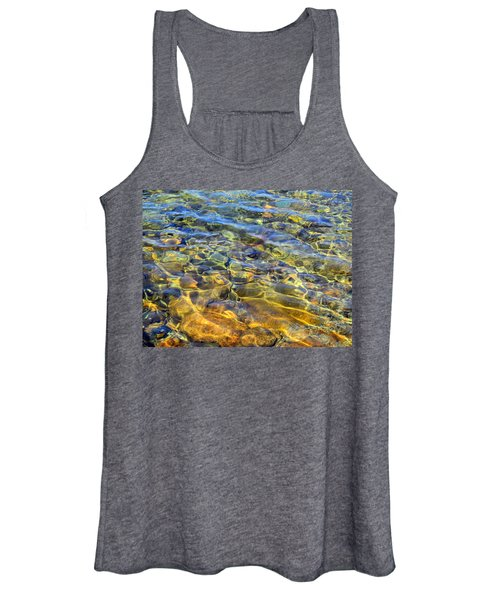 Water Abstract Women's Tank Top