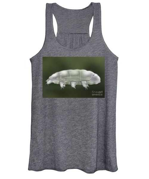 Water Bear Tardigrada - Waterbear Tardigrade  - Scientific Illustration Women's Tank Top