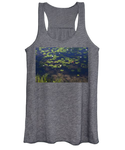 Water Lilies Women's Tank Top