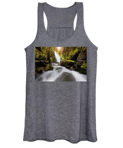 Waterfall Glow Women's Tank Top