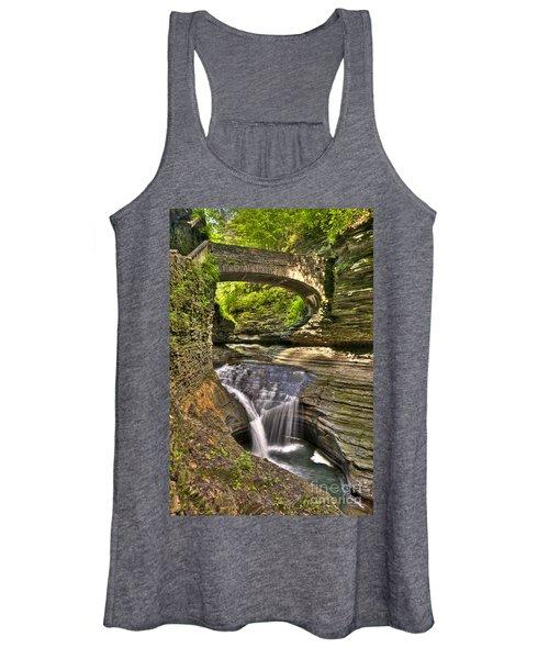 Watkins Glen Waterfalls Women's Tank Top