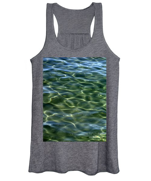 Waves On Lake Tahoe Women's Tank Top