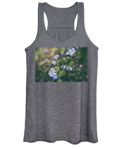 We Lay With The Flowers Women's Tank Top