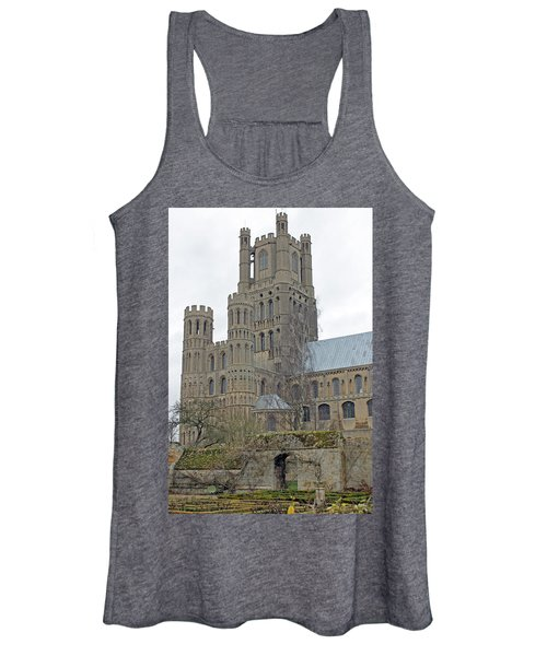West Tower Of Ely Cathedral  Women's Tank Top