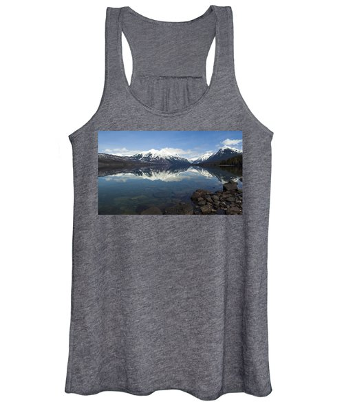When The Sun Shines On Glacier National Park Women's Tank Top