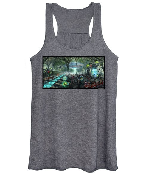 Who Is Controlling Who Women's Tank Top