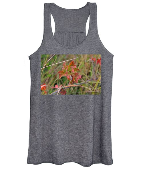 Wild Gooseberry Leaves Women's Tank Top
