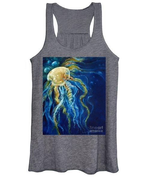 Wild Jellyfish Reflection Women's Tank Top