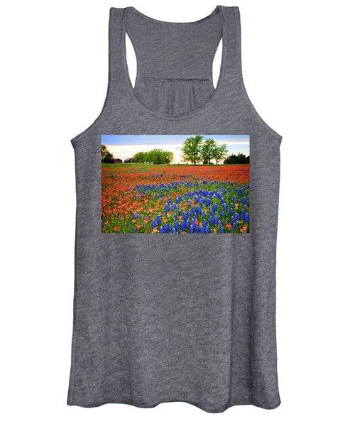 Wildflower Tapestry Women's Tank Top