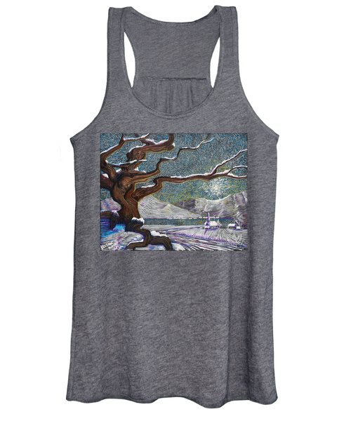 Winter's Day Women's Tank Top
