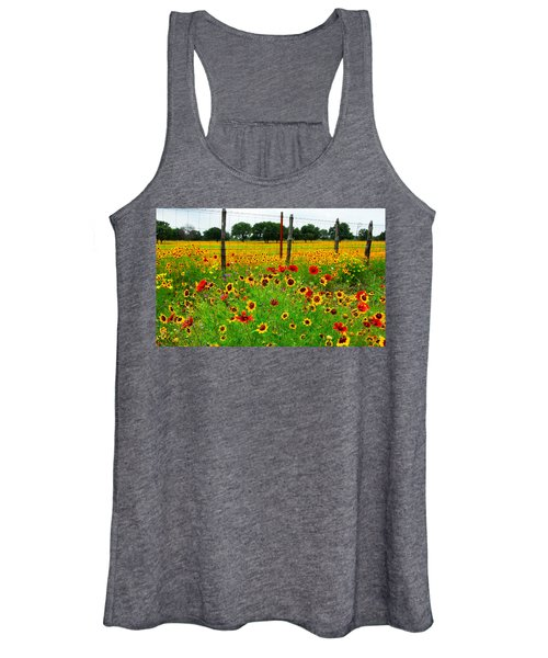 Wonderful Wildflowers Women's Tank Top