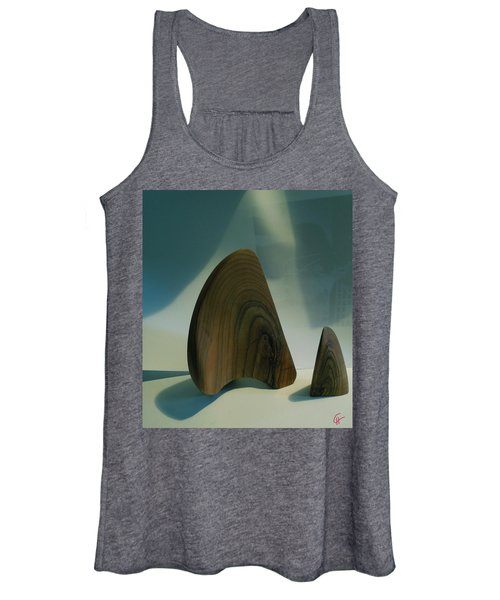 Wood Zen Harmony Women's Tank Top