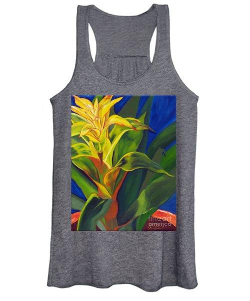 Yellow Bromeliad Women's Tank Top