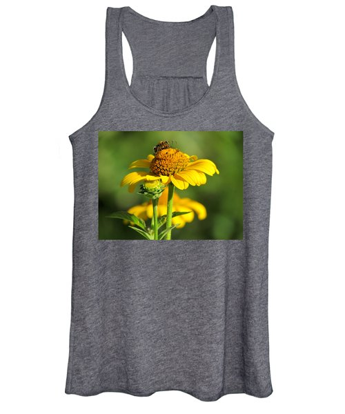 Yellow Daisy Women's Tank Top