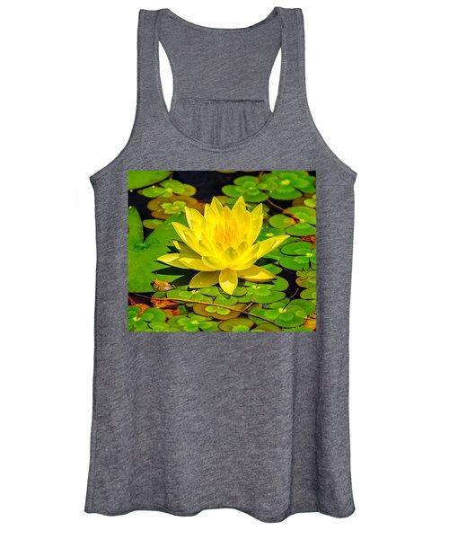 Yellow Lily Women's Tank Top