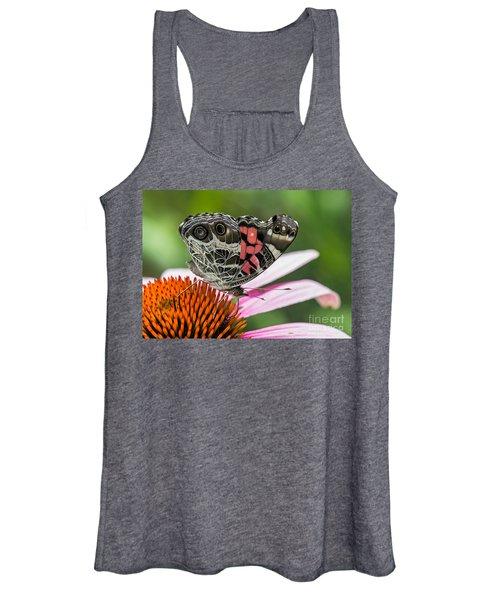 Butterfly Feeding Women's Tank Top