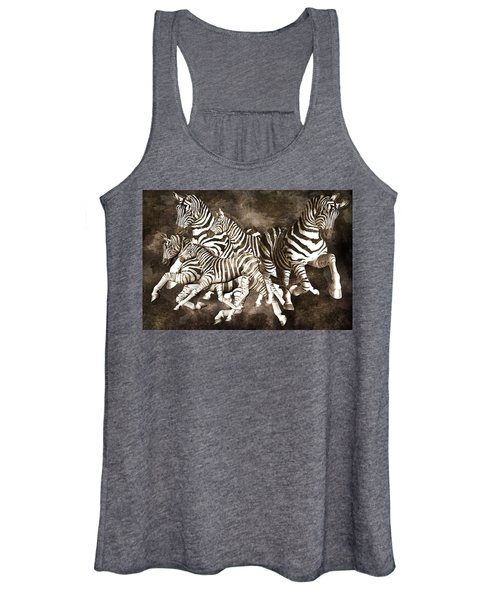 Zebras Women's Tank Top