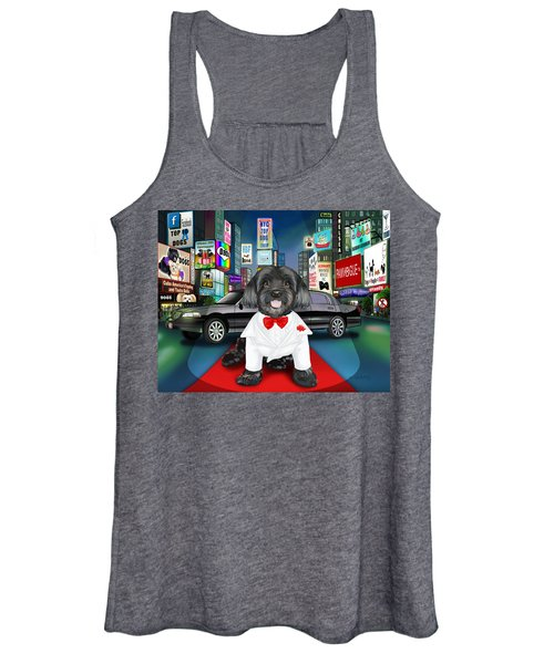 Sir Cuba Of Chelsea In Times Square Nyc Women's Tank Top