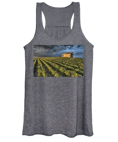Newly Planted Crop Women's Tank Top