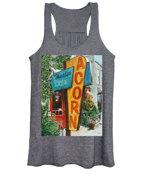 Acorn Theater Women's Tank Top