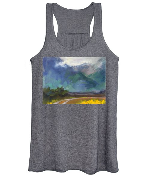 At The Feet Of Giants Women's Tank Top