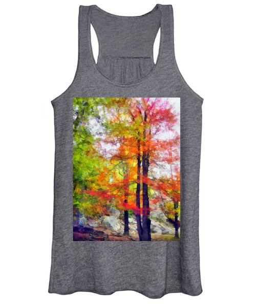 Autumnal Rainbow Women's Tank Top