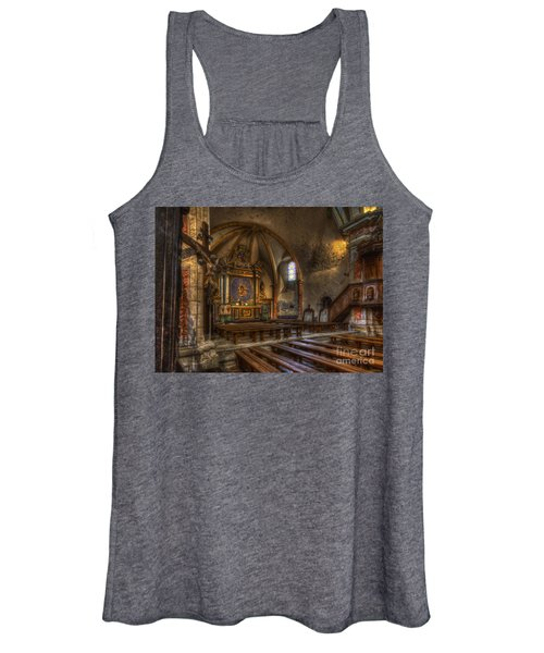 Baroque Church In Savoire France 2 Women's Tank Top