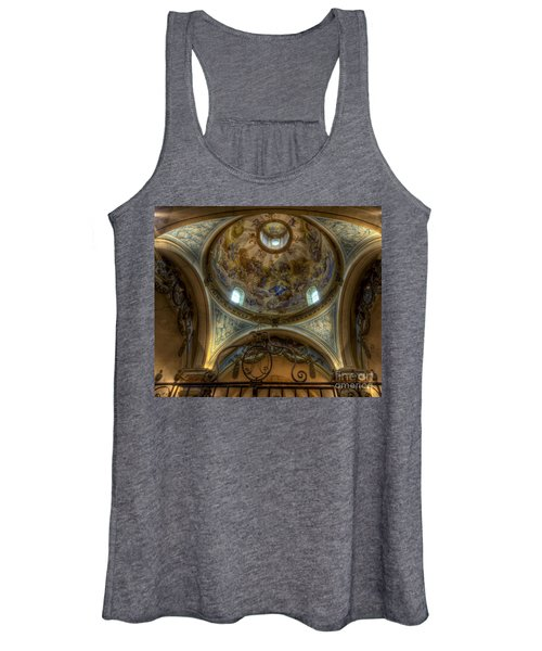 Baroque Church In Savoire France 5 Women's Tank Top