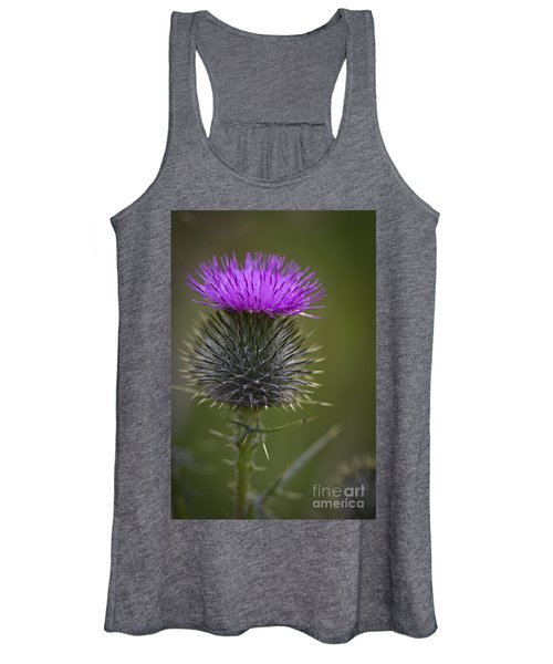Blooming Thistle Women's Tank Top